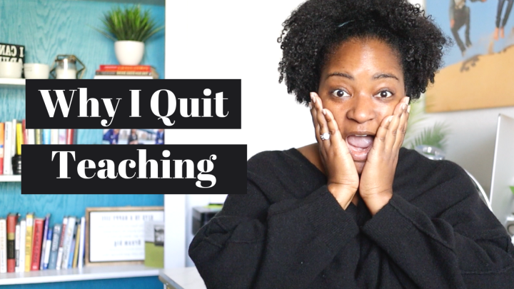 I Quit My Job|Why I Left Education